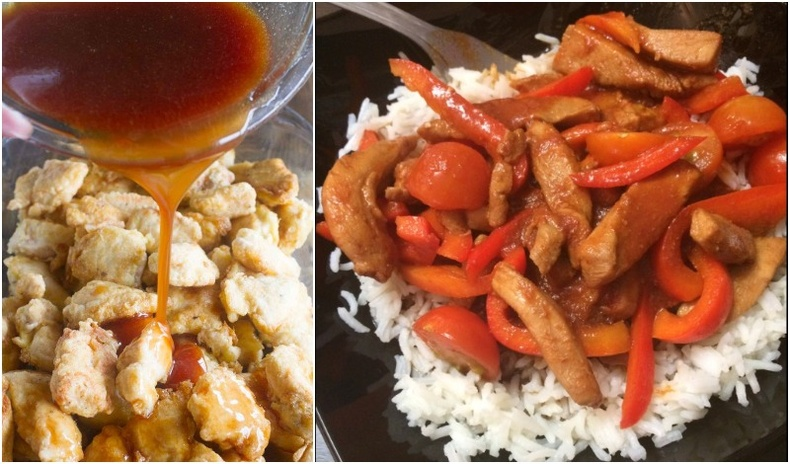 Чихэрлэг соустай тахиаг хятад маягаар хийж сурцгаая!