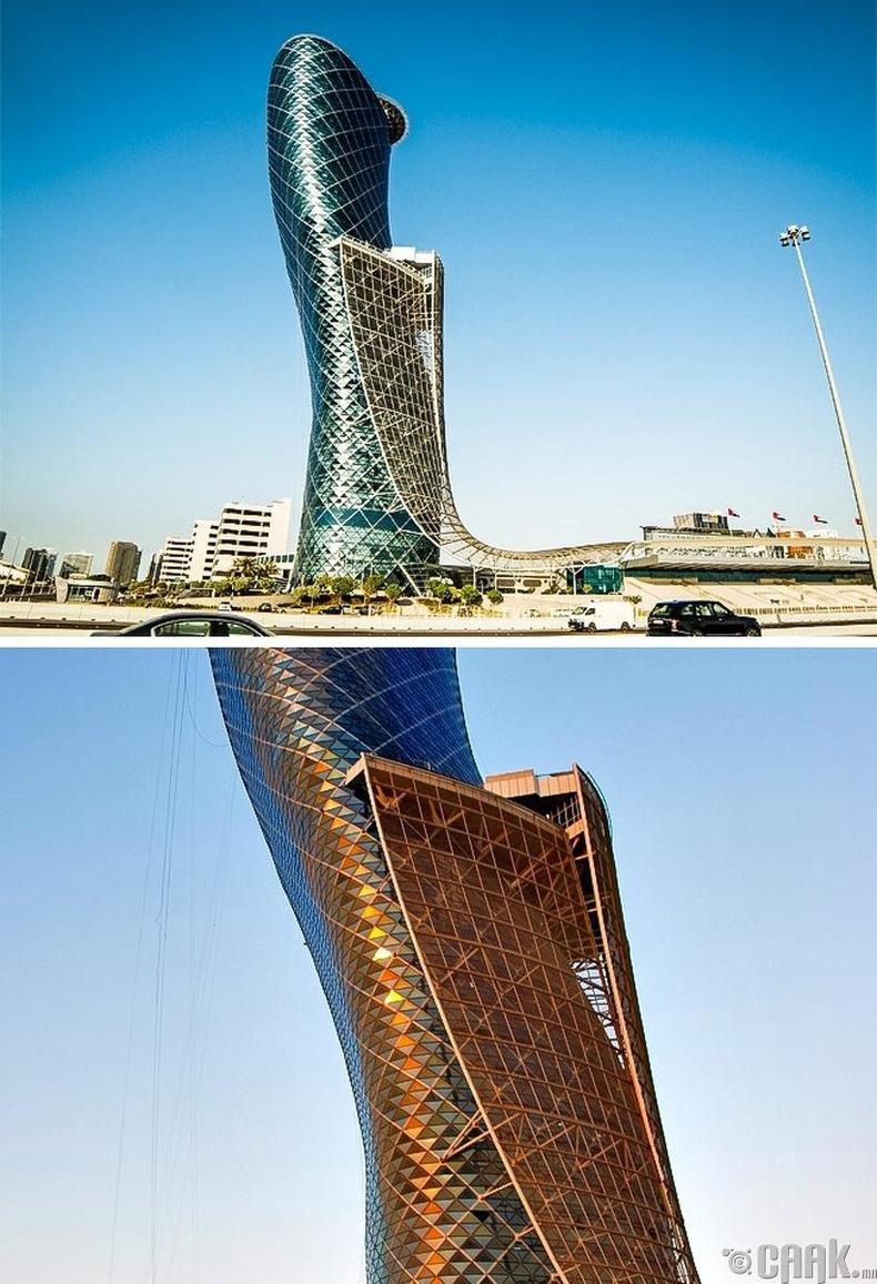 """""""Нийслэл"""" хаалга - Абу Даби хот, Арабын нэгдсэн Эмират улс"""