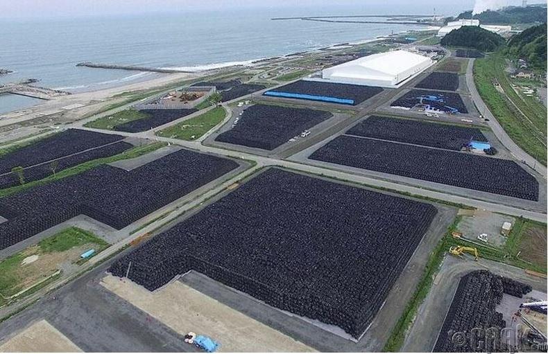 Хэдэн сая уут цацраг идэвхт хөрсийг цуглуулсан байгаа нь