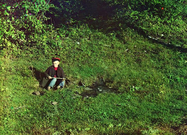 Хоньчин хүү Сим голын эрэг дээр - 1910 он