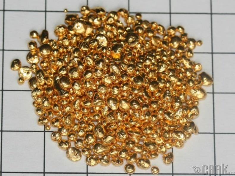 Саран дээр үнэт метал байх боломжтой юу?
