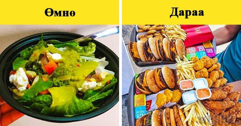 Хоолны дуршил нэмэгдэнэ