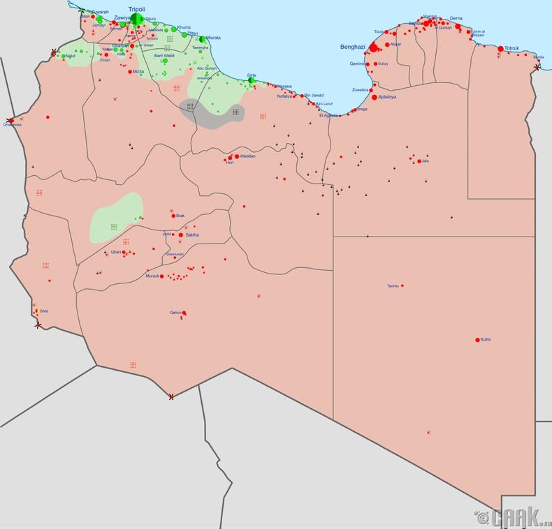Баруун, Зүүн Ливи