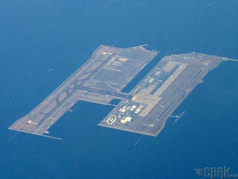 """""""Кансай"""" олон улсын нисэх онгоцны буудал, Япон"""