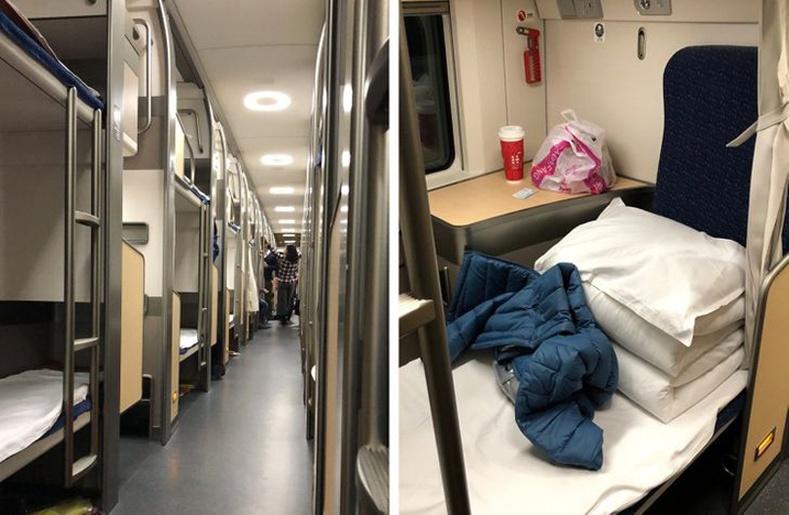 Хятадын унтлагын галт тэрэг