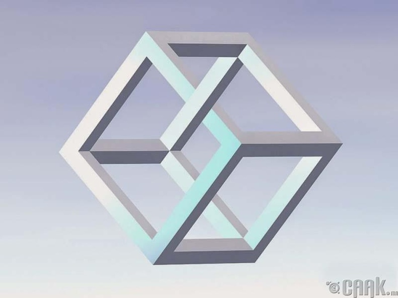 Куб хэлбэртэй хуурмаг үзэгдэл