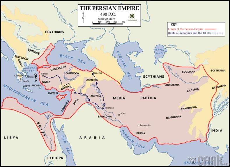 Персийн анхны эзэнт гүрэн