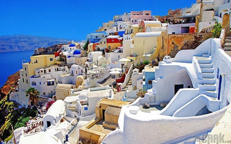 Грекийн Санторинигийн арлууд