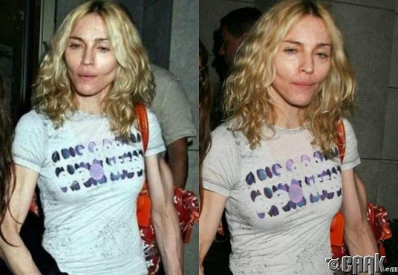 Хэт тураалд орсон Мадонна
