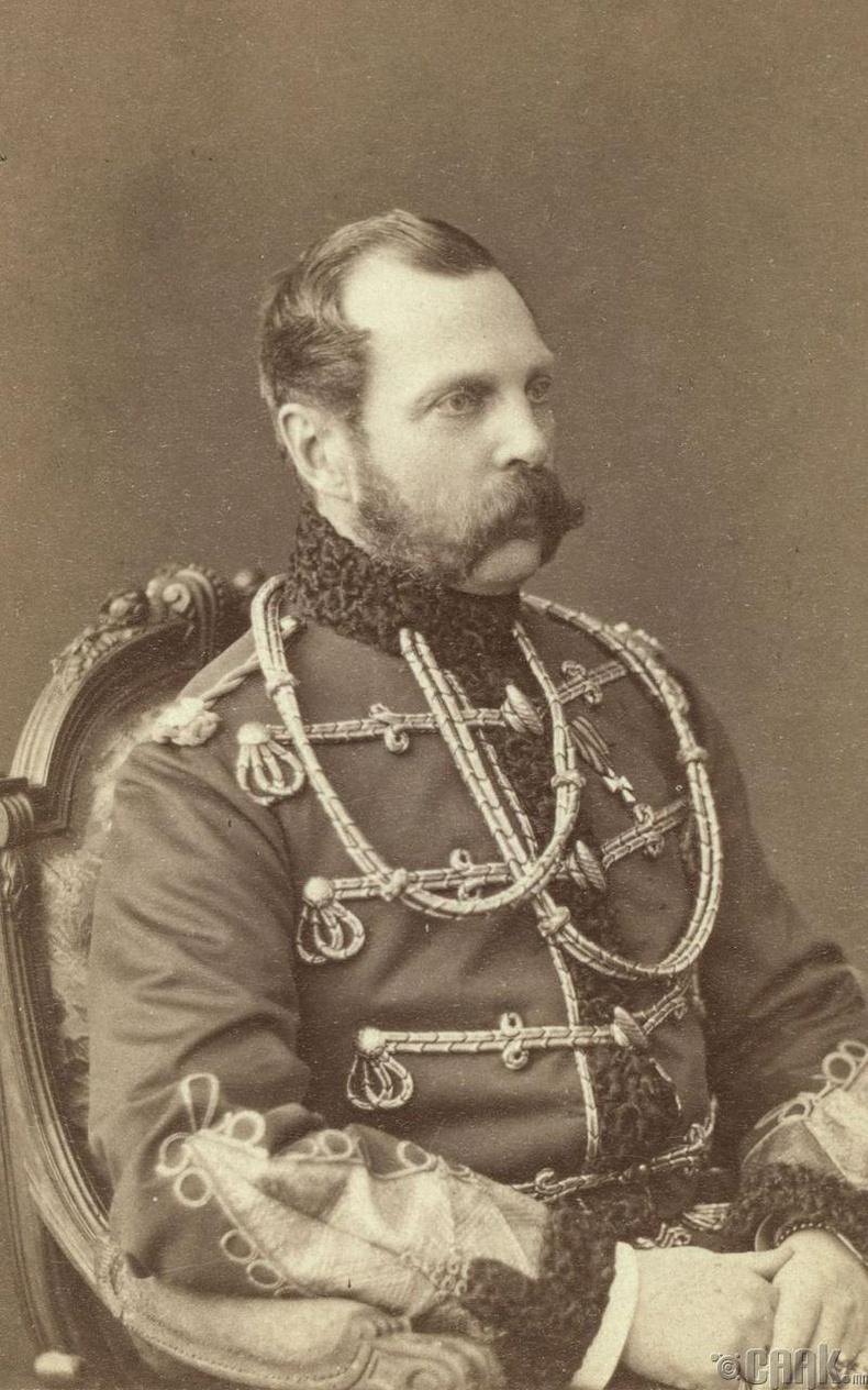 Александр II, 1855-1881 онуудад Оросын эзэн хаан байсан