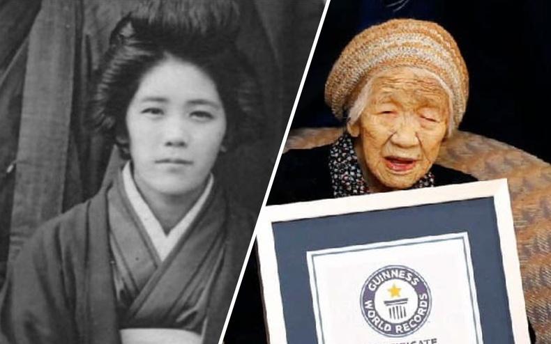 Өнөө цагийн дэлхийн хамгийн өндөр настай хүн бол 1903 онд төрсөн, 118-тай Канэ Танака