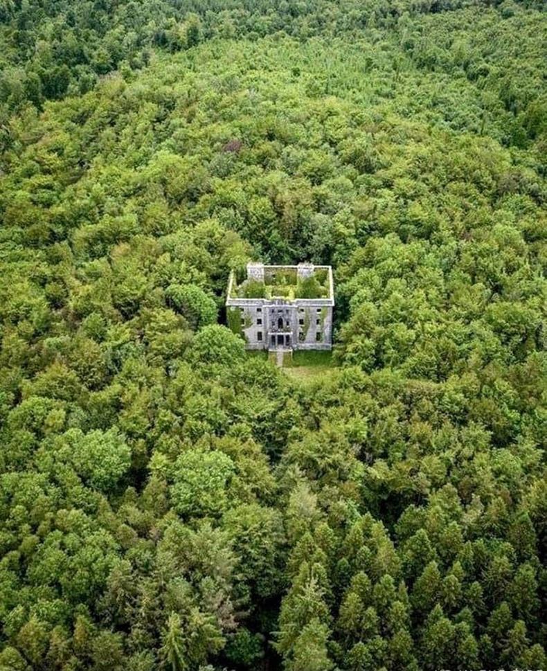 Ирландад 1793 онд баригдсан нууцлаг цайзын үлдэгдэл