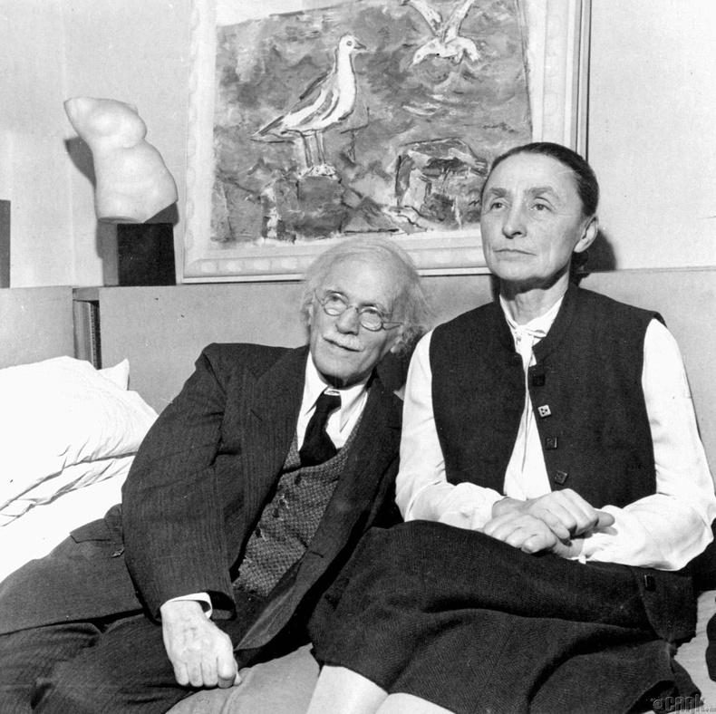 Жорж О'Киффэ (Georgia O'Keeffe)- Алфред Стиеглицийн урлагийн охин тэнгэр