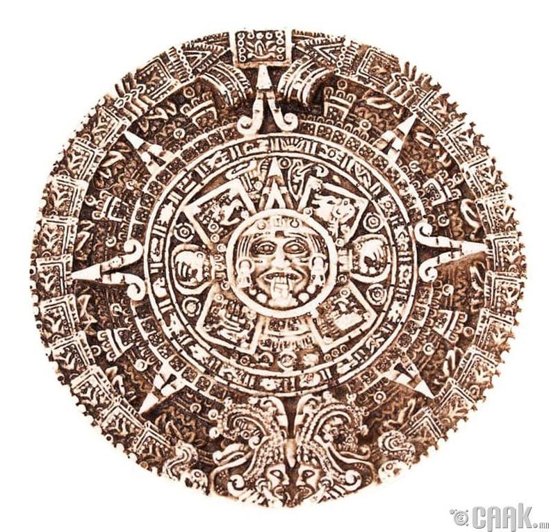 2012 он, эртний Маяачуудын календар дууссан нь...