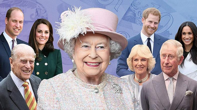 Британийн хааны гэр бүл хаанаас орлогоо олдог вэ?