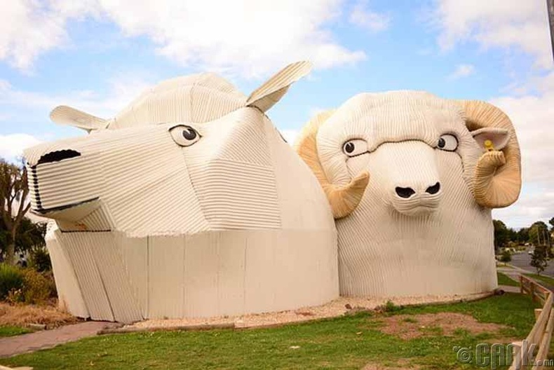 Хонин барилга, Шинэ Зеланд