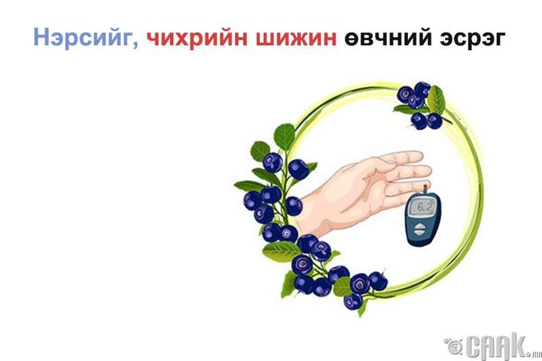 Нэрс жимс - Чихрийн шижин