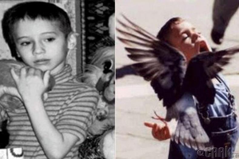 Шувуун хүүхэд