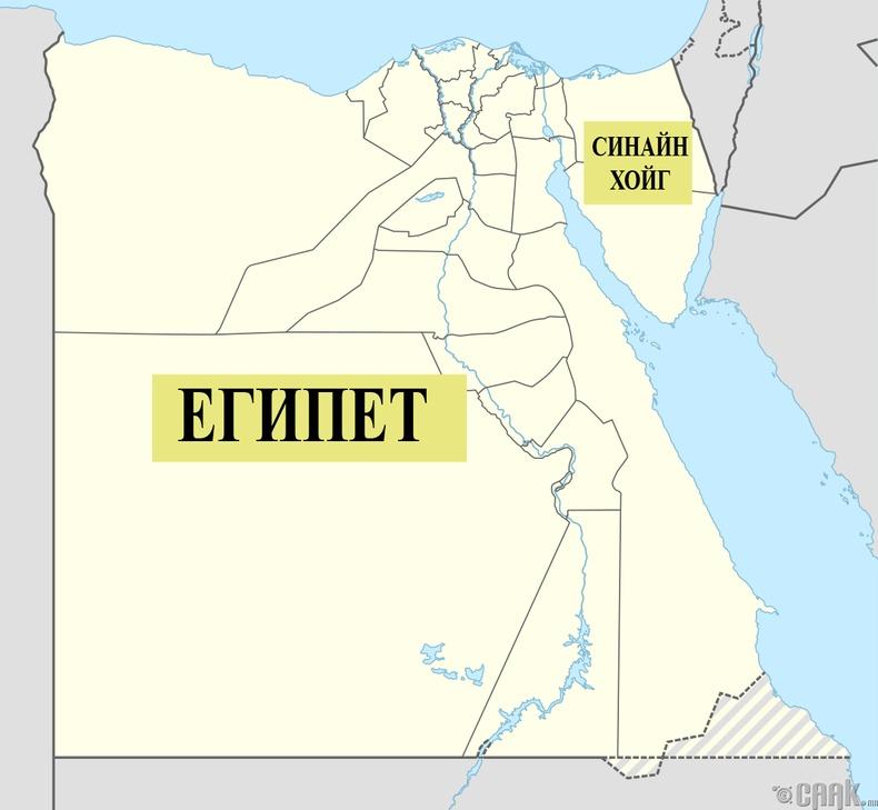 Бид бодохдоо: Египет тэр чигтээ Африк тивд байдаг