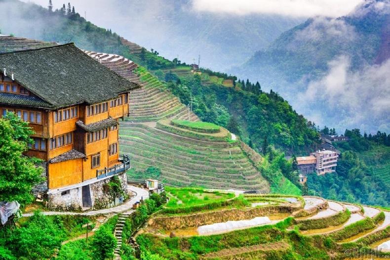 Лонгжи будааны талбай, Хятад