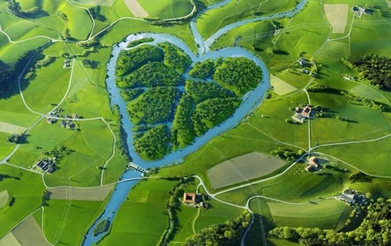Хойд Дакота мужид хоёр гол нэгдэх зүрхэн гол (АНУ)