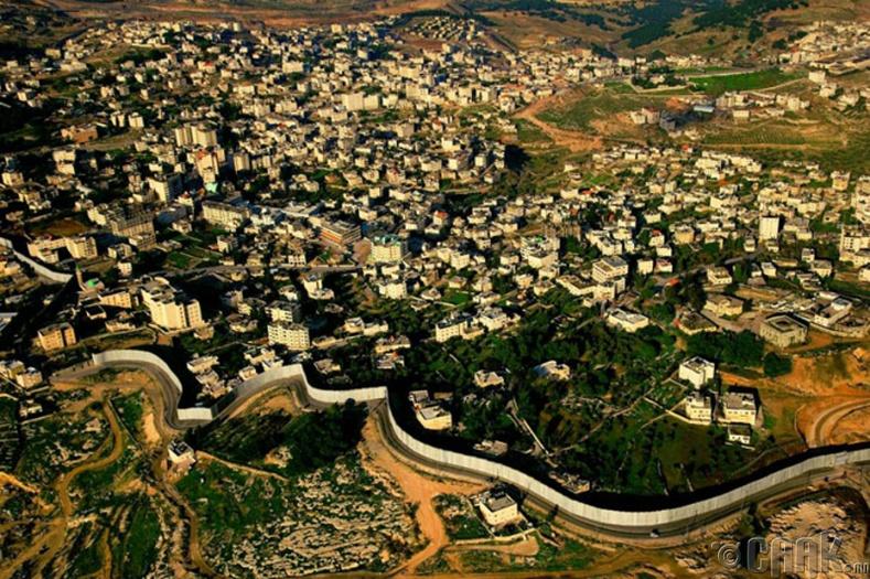 Израилийн салган тусгаарлах хана