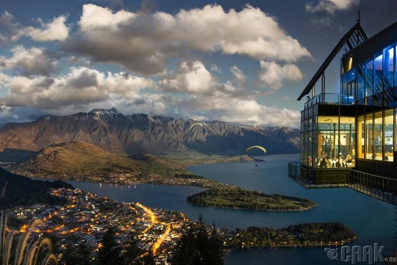 """Skyline"" ресторан - Квинстоун, Шинэ Зеланд"