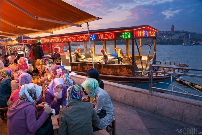 Истабул, Турк