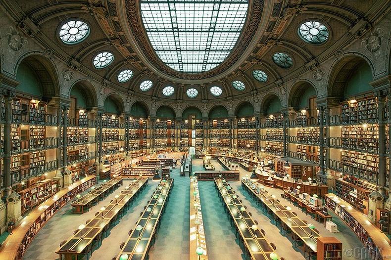 Францын үндэсний номын сан, Парис