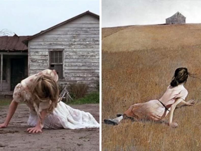 """Форрест Гамп"" (1994), найруулагч Роберт Земекис - ""Christina's World"", зураач Эндрю Уайет, 1948"