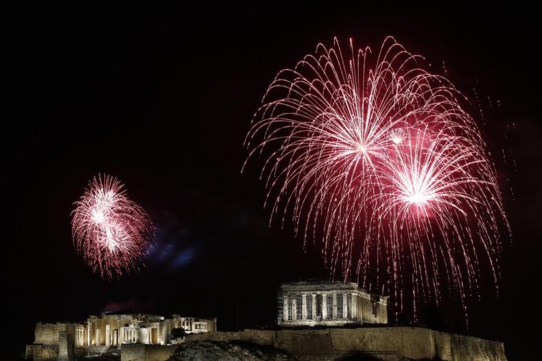 Акрополисын толгод, Афин, Грек