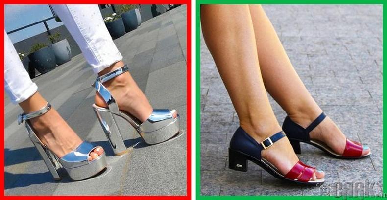 Хэт өндөр өсгийтэй гутал