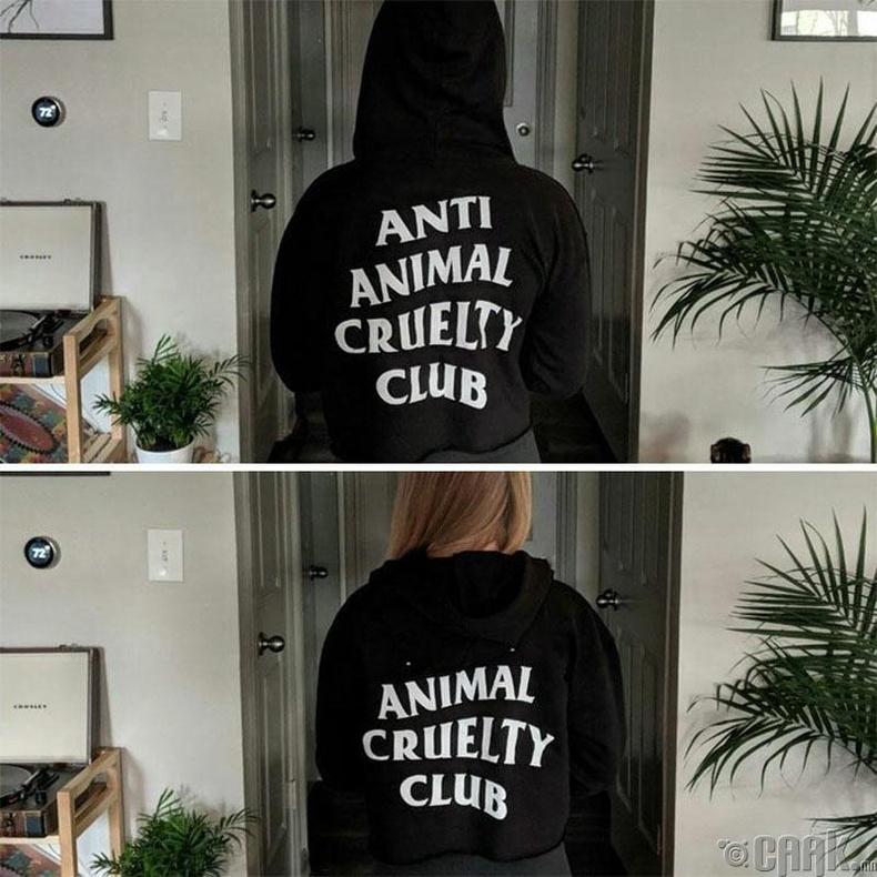 """""""Амьтан зовоохын эсрэг клуб"""" нь """"Амьтан зовоодог клуб"""" болсон нь"""
