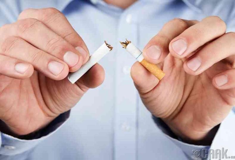Тамхинаас гарах