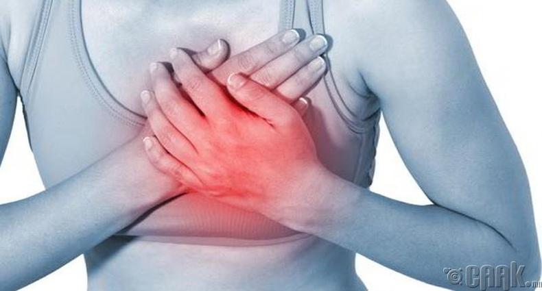Зүрхний өвчлөлөөс сэргийлнэ