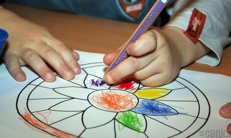 Манай хүүхэд ч ингэж зурж чадна...