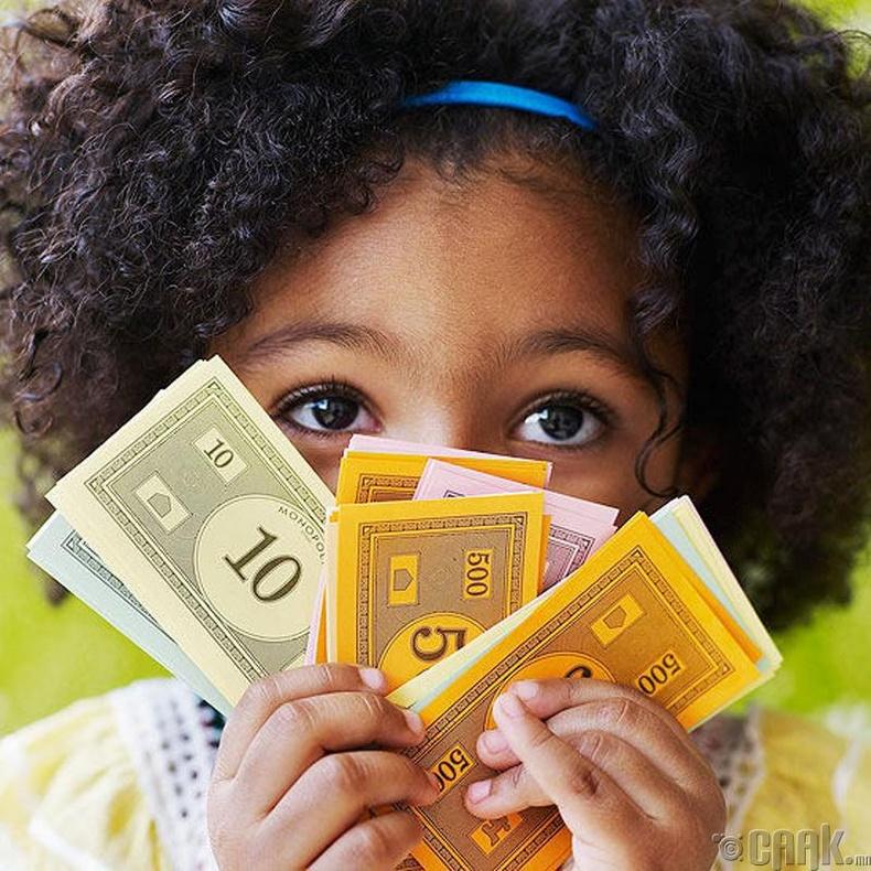 Дөрвөөс таван нас - Мөнгө тоолох