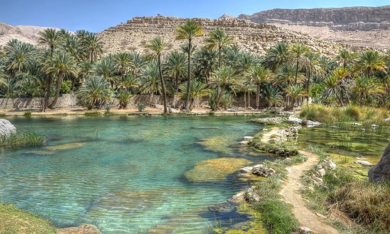 Вади Бани Халид, Оман улс