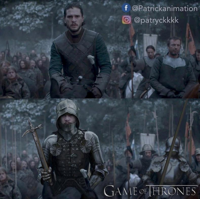 """Жон Снөү (John Snow) - """"Game of Thrones"""""""