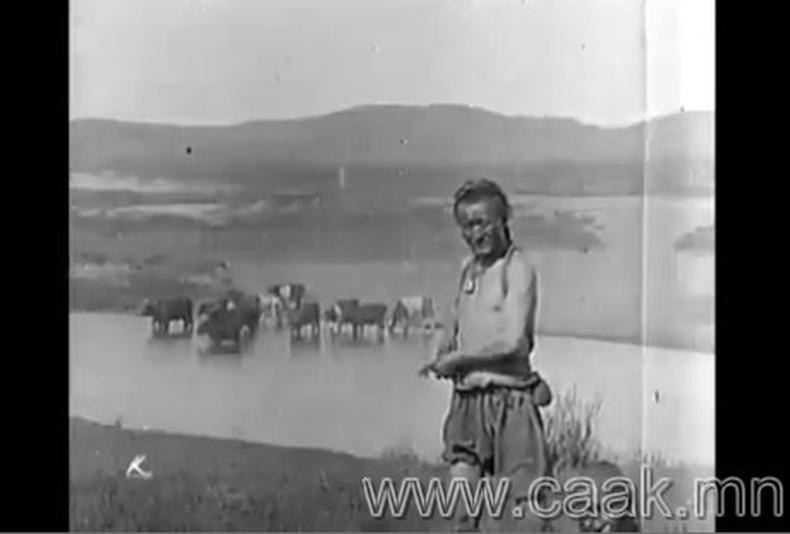 Монгол 1913 он - Ховор бичлэг!