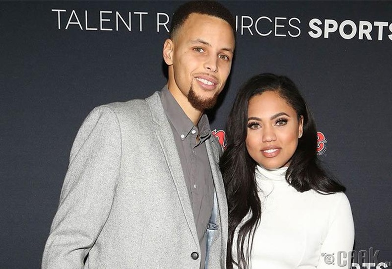 Стифен Карри болон Айша Карри (Stephen Curry, Ayesha Curry)
