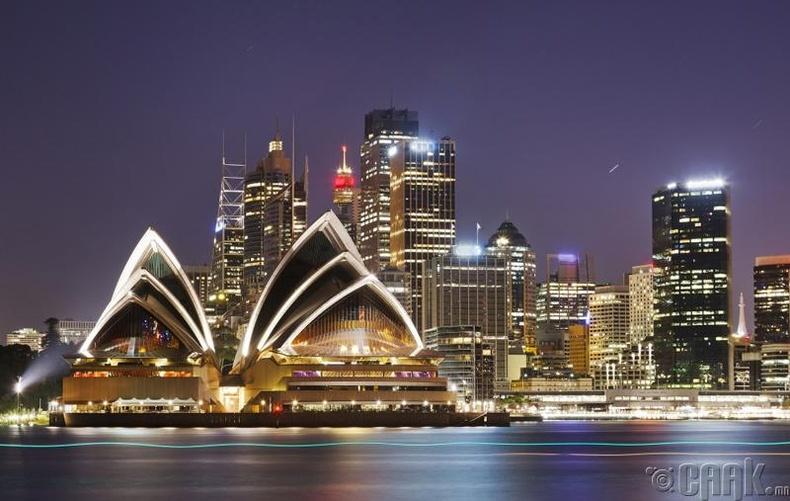 Австрали - Нэг хүнд ноогдох ДНБ 44,073 доллар
