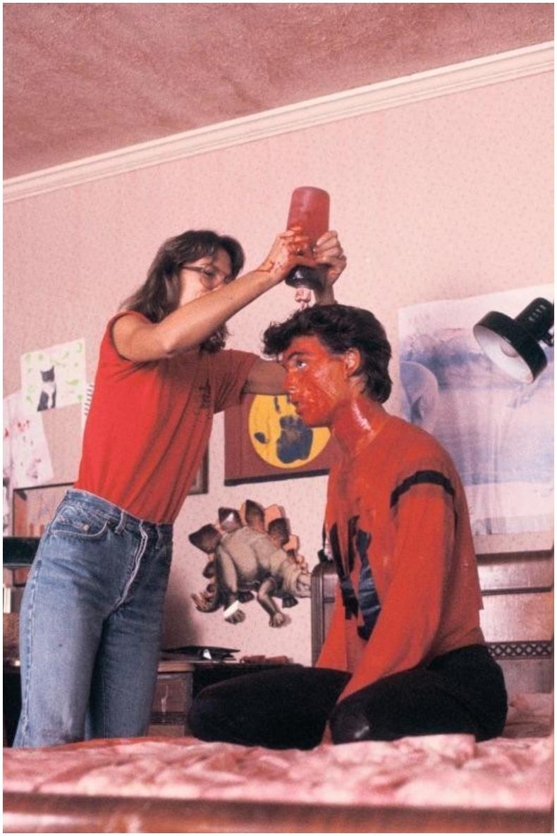 "Жонни Депп ""The Nightmare on Elm Street"" кинонд тоглож байхдаа, 1984 он"