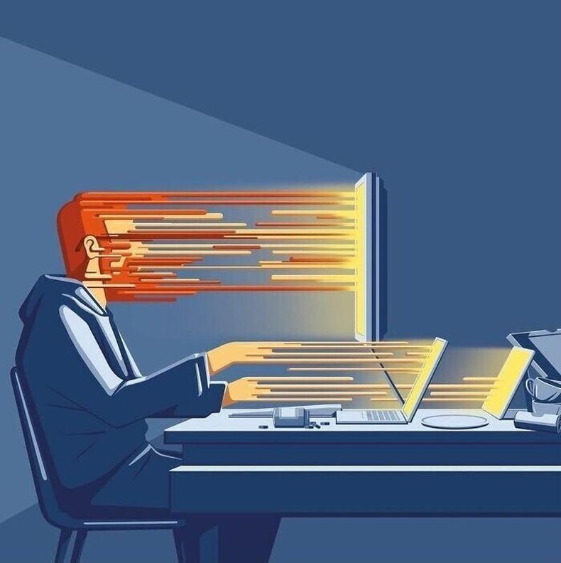 Интернет сүлжээний боол болсон хүн төрөлхтөн