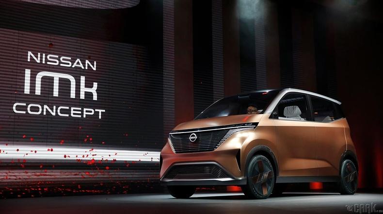 """""""Nissan IMk"""" цахилгаан хөдөлгүүрт машин"""