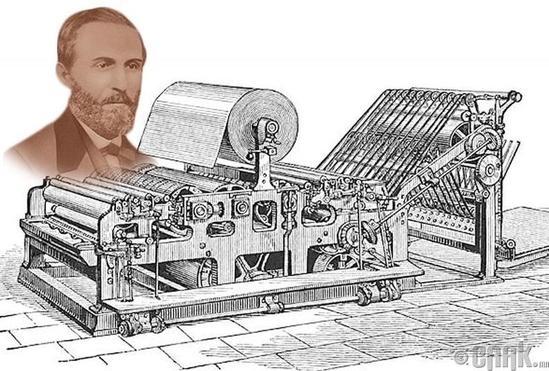 Уиллиам Баллок - Хэвлэгч машин