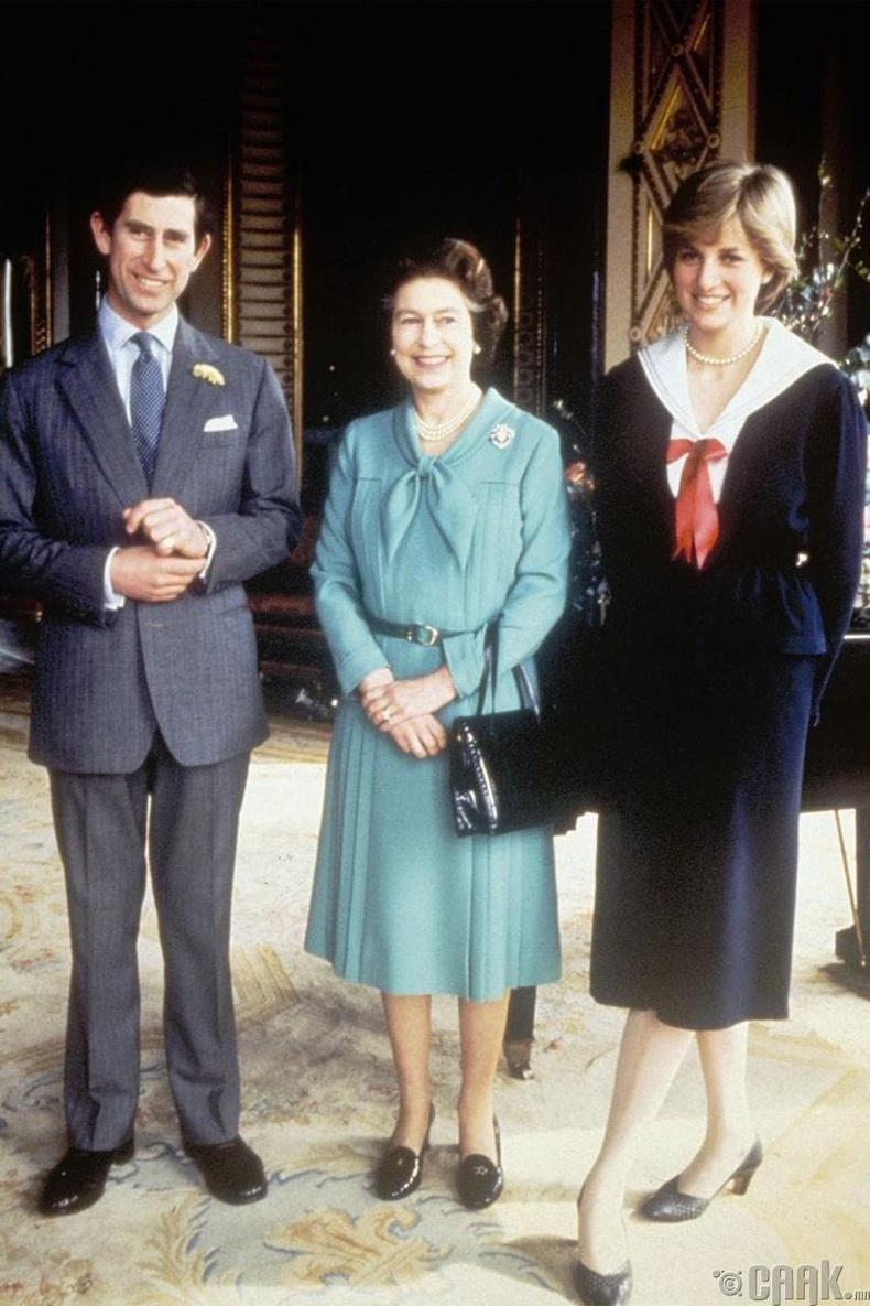 Хунтайж Чарльз болон Диана гүнжийн хамт, 1981 он