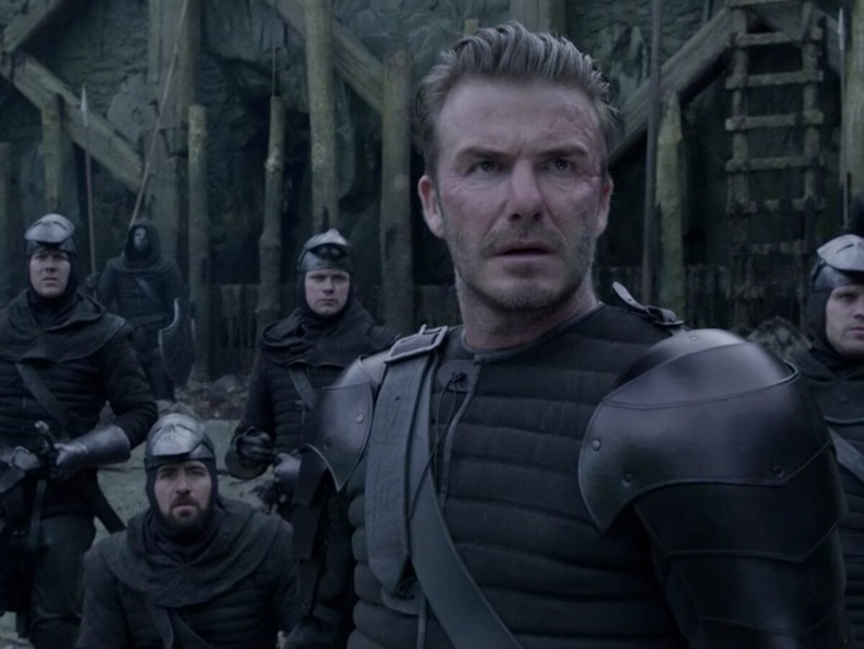 """Дэвид Бекхам (David Beckham) - """"King Arthur"""""""