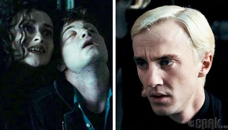 Харри Поттер болон найз нөхдөө Волдемортоос аварсан
