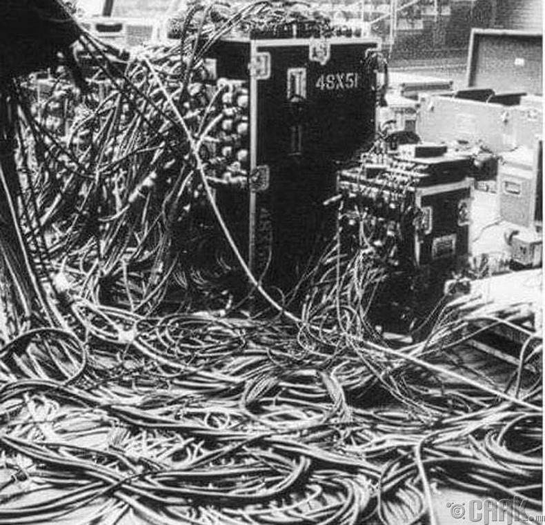 """1969 онд болсон """"Вүүдсток"""" наадмын тоног төхөөрөмж"""